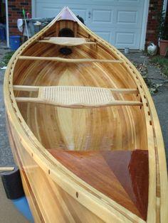 WoodNet Forums: Cedar Strip Canoe completed
