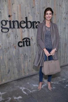 Juliana Awada (© Gentileza Mass y Grupo PR) Looks Street Style, Looks Style, Style Me, Royal Fashion, Casual Fall, Work Fashion, Personal Style, Casual Outfits, Normcore
