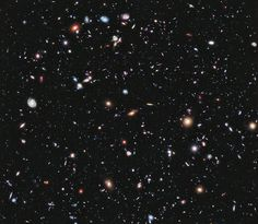 """This Is the Most Detailed Image of the Universe Ever Captured  NASA has just published the most detailed view of the Universe ever taken. It's called the Extreme Deep Field—or XDF for short. It took ten years of Hubble Space Telescope photographs to make it and it shows some the oldest galaxies ever observed by humans, going 13.2 billion years back in time."""
