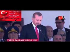 30 Ağustos Zafer Bayramı .Türkiye-2015-Cumhurbaşkanı Say'ın Erdoğan...