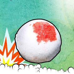 TARGET PRACTICE Bath Bomb $5.95 POW! POW! A fresh snap of ginger and wasabi blended with deadly rose petals and vanilla sugar. A sure hit. 5oz.