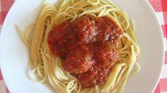 A Casinha das Bolachas: Almôndegas Com Molho de Tomate - Versão Cuisine Co...