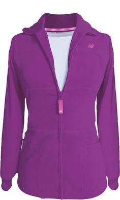New Balance Stat Jacket. Pretty Vivid Violet New Color! #shoemetropintowin