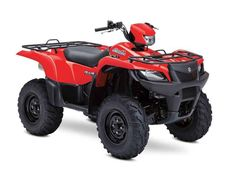 New 2015 Suzuki KingQuad 750AXi Power Steering ATVs For Sale in Michigan. 2015 Suzuki KingQuad 750AXi Power Steering, Suzuki KingQUad 750AXi Power Steering Flame Red - Three decades of ATV manufacturing experience has led to the KingQuad 750 AXi Power Steering, Suzuki's most powerful and technologically advanced ATV. Abundant torque developed by the 722 cc fuel-injected engine gives the KingQuad the get up and go that's a must-have for utility sport ATVs. The advanced power steering feature…
