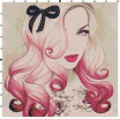 Size 8 Women S Shoes Conversion Hama Beads, Perler Bead Art, Cross Stitch Designs, Cross Stitch Patterns, Cross Stitching, Cross Stitch Embroidery, Custom Monster High Dolls, Vintage Cross Stitches, Needlepoint Patterns