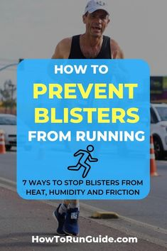 Learn 7 clever ways to stop blisters from happening now. Ever experienced pesky foot blisters from r Race Training, Running Training, Running Tips, Training Equipment, Trail Running, Running Blisters, Running Injuries, Running Routine, Running On Treadmill