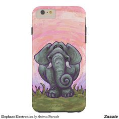 Elephant Electronics Barely There iPhone 6 Plus Case by Animal Parade