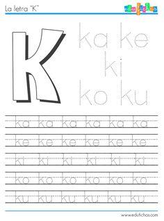 silabas con k