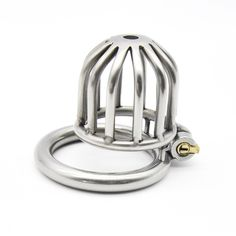 Sex Shop Male Chastity Device Stainless Steel Cock Short Cage Men Virginity Lock,Small Chastity Belt Adult Game Sex Toys For Men #Affiliate