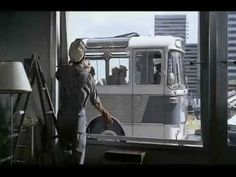Playtime by Jacques Tati (video of scene)