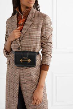 Prada | Cahier leather belt bag | NET-A-PORTER.COM