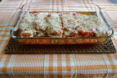 Berenjenas napolitana | Cocina Veggie Noodles, Spaghetti Squash, Meatloaf, Veggie Recipes, Lasagna, Banana Bread, Veggies, Ethnic Recipes, Desserts