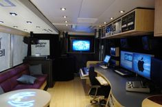 Technology Prevost! Tour Bus!  The only way to travel!  Possibilities!  Our future Magic School Bus Idea!