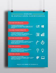 School flyer on Behance
