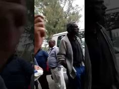 Man gets in an argument with a SAPS officer over the state of his vehicle