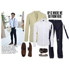 Beach Office - Men in suspenders - Polyvore