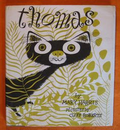 Thomas by Mary Harris; Illustrated by Cliff Roberts by Pistilbooks on Etsy