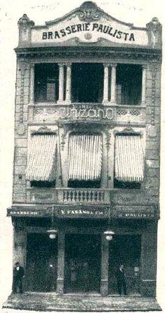 Um pouco da história visual de alguns estabelecimentos comerciais de São Paulo, em fotografias publicadas ao longo do século XX, como as qu...