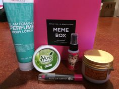 I was sent a memebox to test out, and got some great stuff!  Go and check it out! http://us.memebox.com/?referrer=Direct