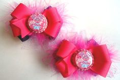 Set of ABBY CADABBY Inspired Boutique Bows  by TheSadieShop, $8.00