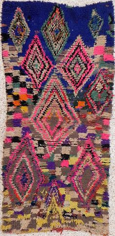 """boucherouite--""""Boucharouette"""" or """"boucherouite"""" carpets and rugs are specific to Moroccan tribes. In these, often very modest, households, the Berbere women weave carpets ..."""