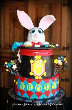 Magician themed birthday cake  Cake by Sandrascakes