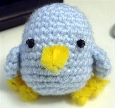 Crochet Amigurumi Chick/Baby Bird by noisypitta