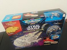 1995 STAR WARS MILLENNIUM FALCON MICRO MACHINES PLAY SET BRAND NEW