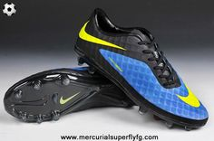 Authentic (Blue/Volt/Black) Nike Hypervenom Phantom FG Discount