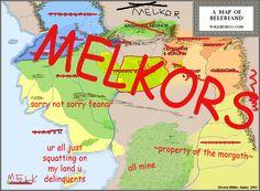meeeeeeeelkoooooooor:  a more accurate map of beleriand