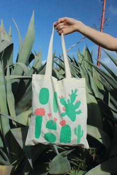 Cactus Tote Bag - pickledcactus