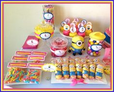 Minions Baby Shower Ideas Despicable Me Party Minion
