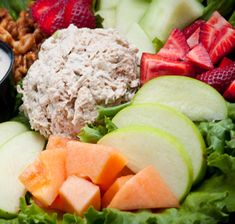 Recipes/Lunch/Tuna-and-Apple-Salad | Zone Diet | Home of Anti-Inflammatory Nutrition