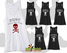 A pirate-themed bachelorette party!