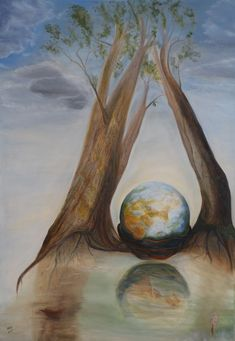 Hydro balance, oil painting by Ildikó Mecséri (MEIL) Online Gallery, Fine Art America, Paintings, Oil, Beautiful, Painting Art, Painting, Paint, Draw