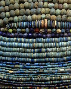 Ancient Egyptian Beads by TMNYNY, via Flickr