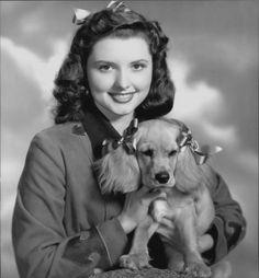 0 Patricia White and cocker spaniel puppy
