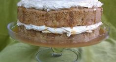 Caramel Apple Cake with Salted Caramel Sauce and Browned Butter Frosting. Fall in a bite. www.thesimplecake.com