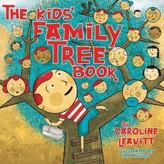Kids will love sharing what they've learned about their family history with these 9 family tree activities- such a fun way to explore genealogy! Family Tree Book, Family Tree For Kids, Trees For Kids, Family Night, History For Kids, Family History, History Books, Family Theme, Family Units