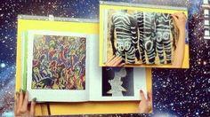 """""""Grosse fatigue"""" de Camille Henrot, sacrée Lion d'argent à la Biennale de Venise, le 1er juin 2013."""