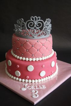 princess cake, sweet and simple, I think this is how I will start out.