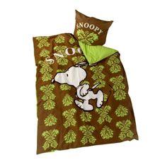 Une belle parure de lit Snoopy pour enfant : une housse de couette (140x200cm) adaptée pour un lit une personne et une taie d'oreiller (60x70cm) assortie  http://www.lamaisontendance.fr/catalogue/parure-de-lit-snoopy-140x200cm/