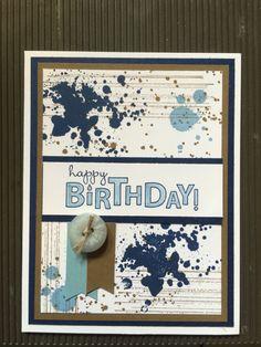 Generic birthday card -Pinterest design