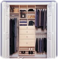 Small closet remodel related post small walk in closet decor Small Closet Organization, Closet Storage, Organization Ideas, Storage Ideas, Kid Closet, Walk In Closet, Closet Ideas, Closet Redo, Closet Space