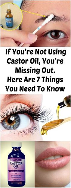 If You're Not Using Castor Oil, You're Missing Out. Here Are 7 Things You Need To Know Made from the castor seed, castor oil is high in triglycerides and ricinoleic acid.