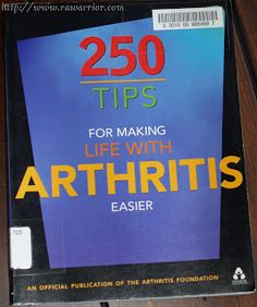 Rheumatoid Arthritis Tips Book Review | RA Education | Rheumatoid Arthritis Warrior