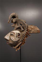 Masque casque Igbo - Art africain