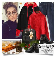"""""""SHEIN IX/6"""" by creativity30 ❤ liked on Polyvore featuring shein"""