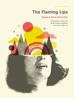 Doublenaut - The Flaming Lips poster: the poster is the same as their own music