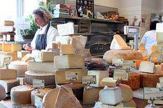 Oxbow Cheese Merchant at the Oxbow Market in downtown Napa, California